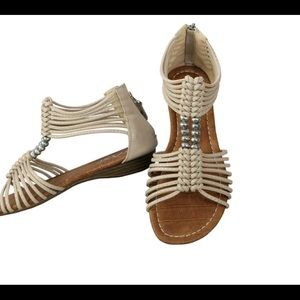 NEW Taxi strappy gladiator sandal - size 10